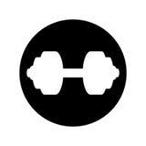 icône d'équipement d'haltérophilie Photos libres de droits
