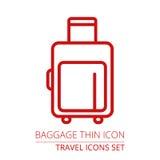 Icône de bagage illustration libre de droits