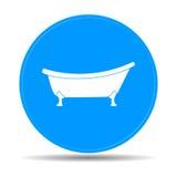 Icône de baignoire Images stock