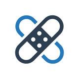 Icône de bandage Photos libres de droits