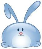 Icône de bande dessinée de lapin Photo libre de droits