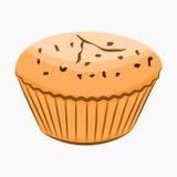 Icône de bande dessinée de petit gâteau Images stock
