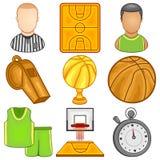 Icône de basket-ball - sport Images libres de droits