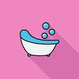 Icône de Bath Image libre de droits