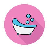 Icône de Bath Photos libres de droits