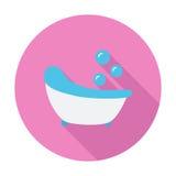 Icône de Bath Images stock