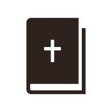 Icône de bible illustration stock