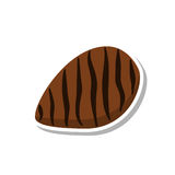 Icône de bifteck illustration de vecteur