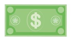 Ic?ne de billet de banque de devise du dollar, illustration courante de vecteur Ic?ne de devise du dollar dans le style plat Arge photographie stock libre de droits