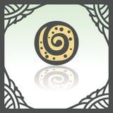 Icône de biscuit de petit pain doux d'ensemble de vecteur Logo infographic moderne et pictogramme Photo stock