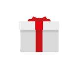 Icône de boîte-cadeau Photographie stock libre de droits