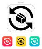 Icône de boîte d'échange. Images libres de droits