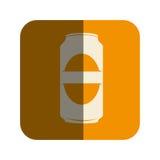 Icône de boissons de canette de bière illustration libre de droits