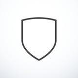 Icône de bouclier de vecteur illustration libre de droits