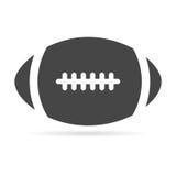 Icône de boule de football américain illustration libre de droits