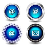 Icône de bouton Photographie stock libre de droits