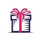 Icône de cadeau Photos libres de droits