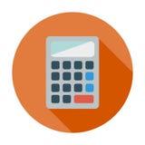 Icône de calculatrice illustration stock