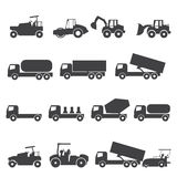 icône de camion de voiture Image stock
