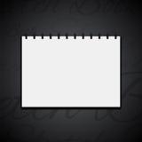 Icône de carnet à dessins Images libres de droits