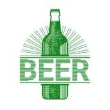 Icône de carte de voeux de Patrick Day Beer Festival Banner de saint Photo stock