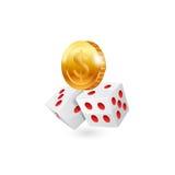 Icône de casino Vecteur Image stock