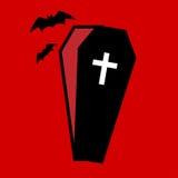 Icône de cercueil illustration libre de droits