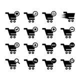 Icône de chariot Image stock