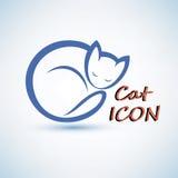 Icône de chat Photos stock