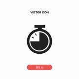 Icône de chronomètre photo stock