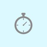 Icône de chronomètre Image stock