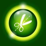 Icône de ciseaux Image stock