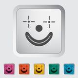 Icône de clown illustration libre de droits