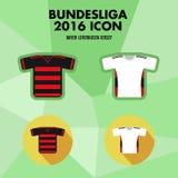 Icône de club du football de Bundesliga Image libre de droits