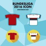 Icône de club du football de Bundesliga Photographie stock libre de droits