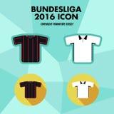 Icône de club du football de Bundesliga Photos libres de droits