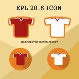 Icône de club du football de Bundesliga Image stock