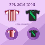 Icône de club du football de Bundesliga Images stock