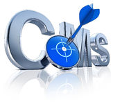 Icône de CMS Photographie stock