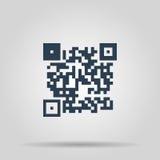 Icône de code de Qr Images stock