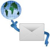 Icône de communication Image stock