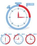 Icône de concept de temps Image libre de droits