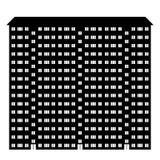Icône de condominium Images stock
