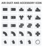 Icône de conduit d'air Illustration Libre de Droits