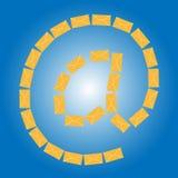 Icône de courrier illustration libre de droits