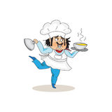 Icône de cuisinier Photos stock