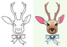 Icône de deer-2 Illustration Stock