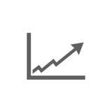 Icône de diagramme de faillite illustration de vecteur