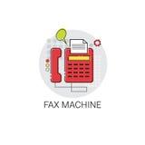Icône de dispositif de Fax Machine Work Office Technology Image stock