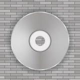 Icône de disque compact Image stock